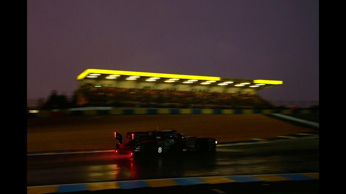 Audi R18 - Startnummer 8 - 24h-Rennen Le Mans 2016 - Donnerstag - 16.6.2016
