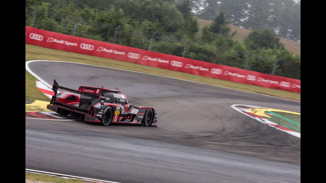 Audi R18 - Startnummer #8 - FIA WEC - Nürburgring 2016