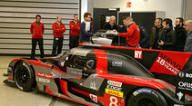 Audi R18, Teambesprechung