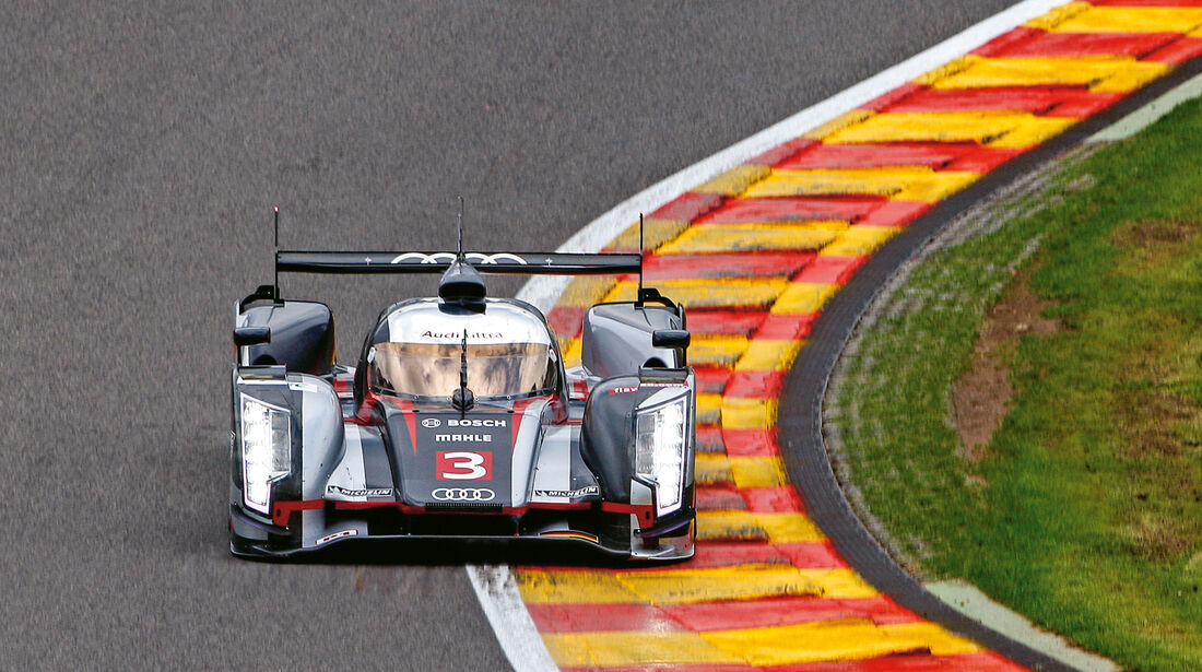 Audi R18 Ultra, Frontansicht