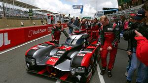 Audi R18 - WEC - LMP1 - Technik - Le Mans 2016