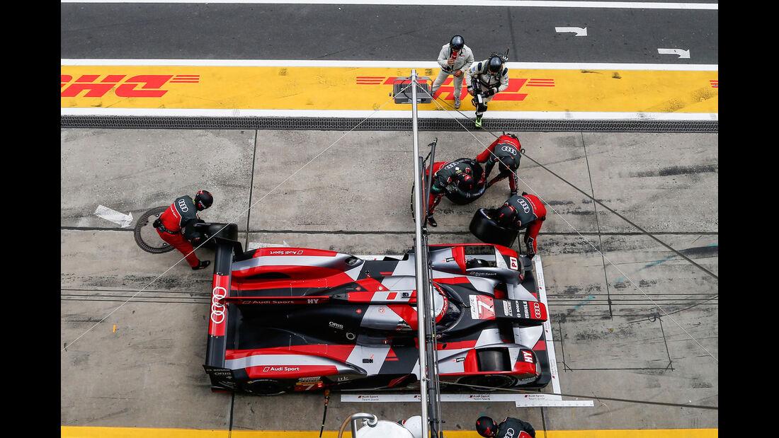 Audi R18 - WEC - LMP1 - Technik - Nürburgring 2016
