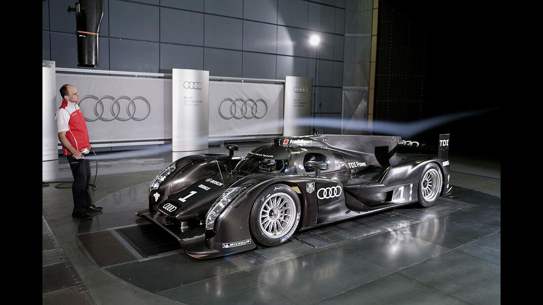 Audi R18, Windkanal