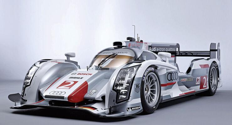 Audi R18 e-tron quattro, Frontansicht