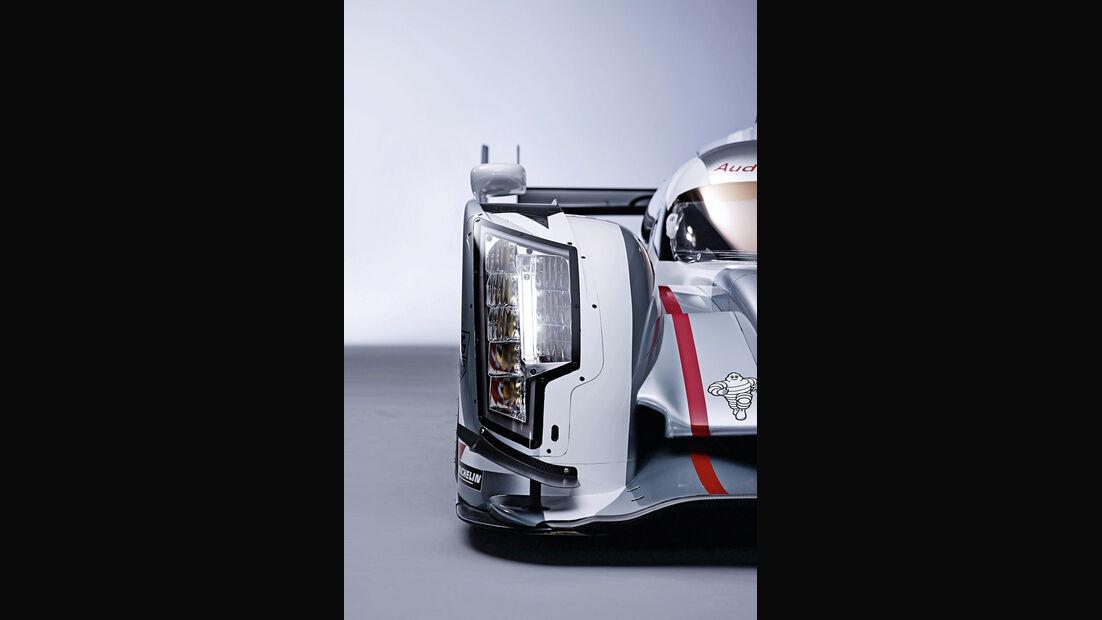 Audi R18 e-tron quattro, Scheinwerfer, Matrix-Beam