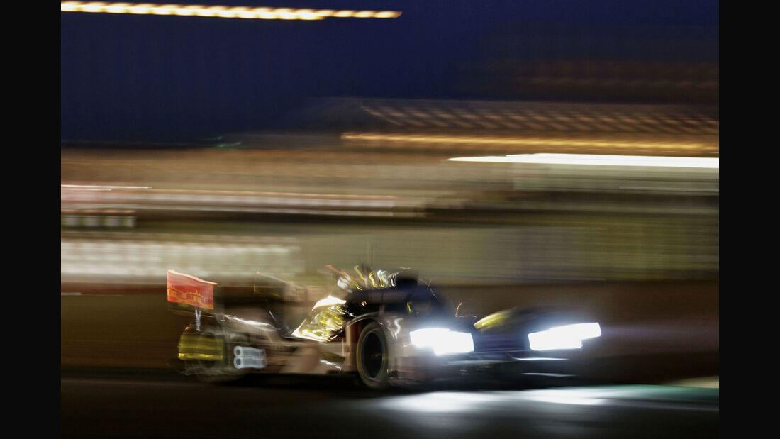 Audi R18 e-tron quattro - Startnummer #8 - 24h Rennen Le Mans - 1. Qualifying - Mittwoch - 10.6.2015