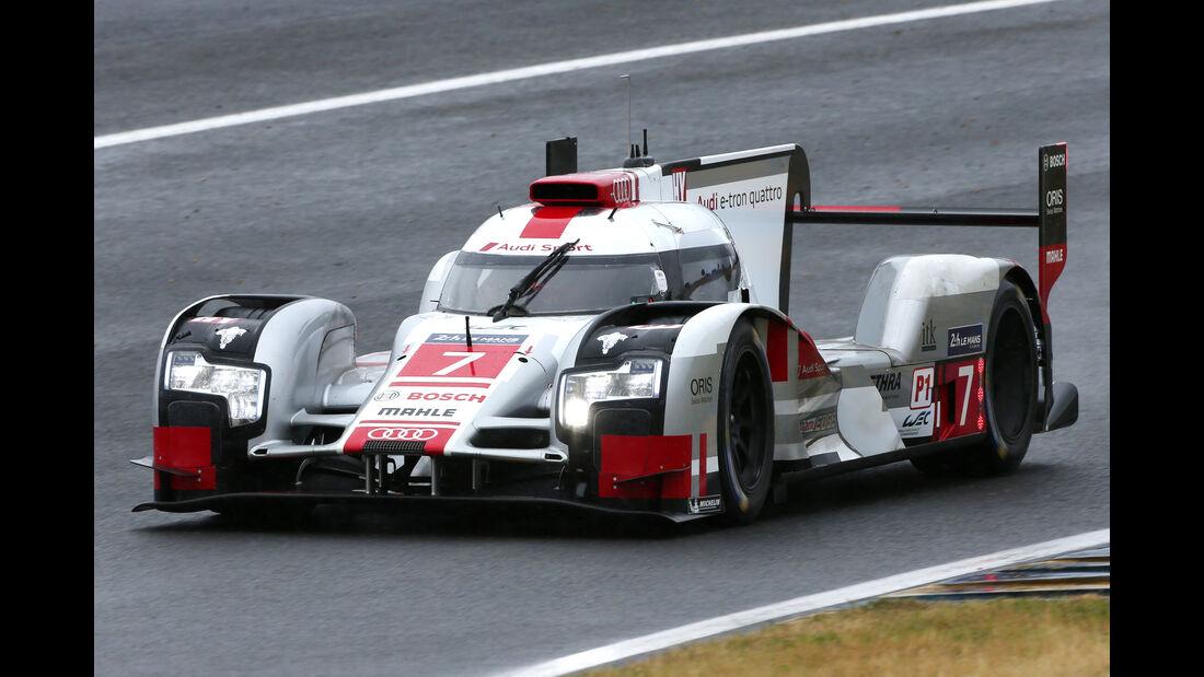 Audi R18 etron quattro - Le Mans-Vortest 2015