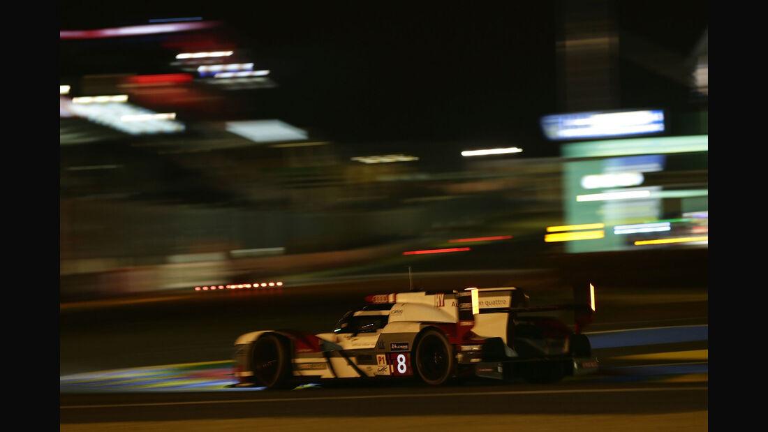 Audi R18 etron quattro - Startnummer #8 - 24h-Rennen Le Mans 2015 - Donnerstag - 12.6.2015