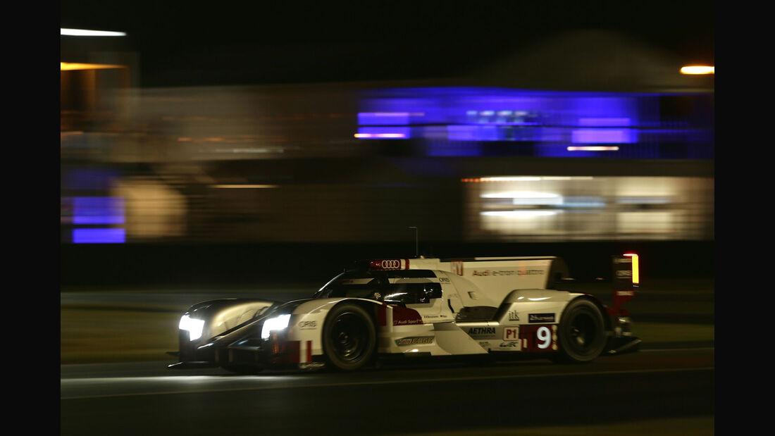 Audi R18 etron quattro - Startnummer #9 - 24h-Rennen Le Mans 2015 - Donnerstag - 12.6.2015