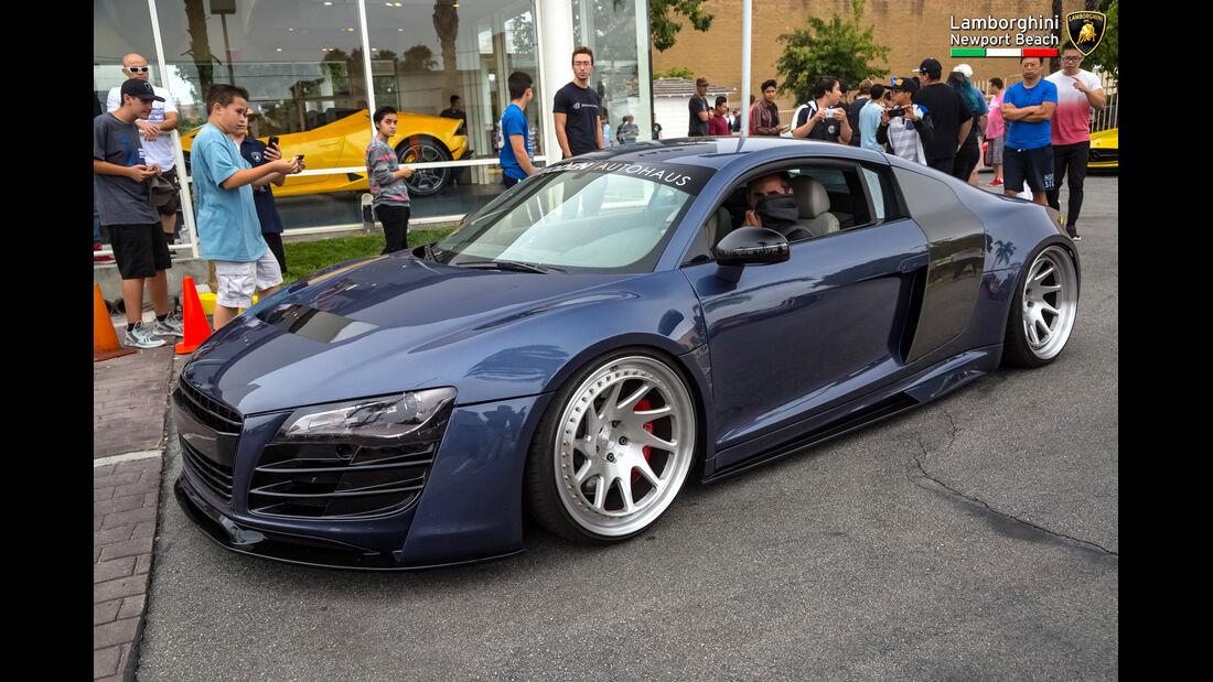 Audi R8 - 200 mph Supercarshow - Newport Beach - Juli 2016