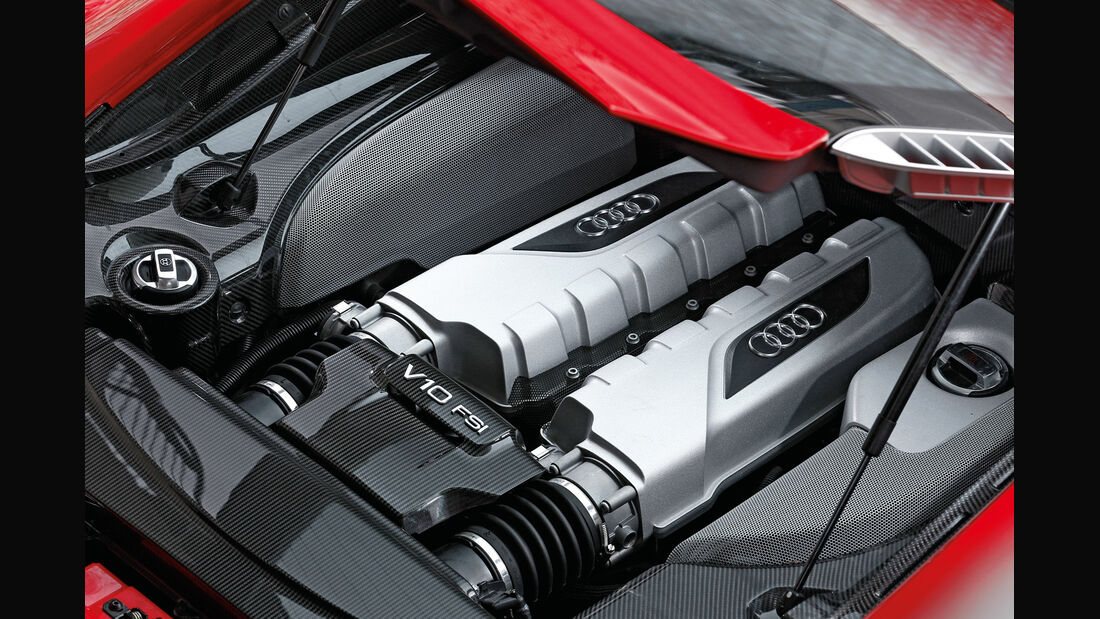 Audi R8 5.2 FSI, Motor, V10