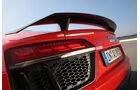 Audi R8 5.2 FSI Quattro Plus, Heckflügel