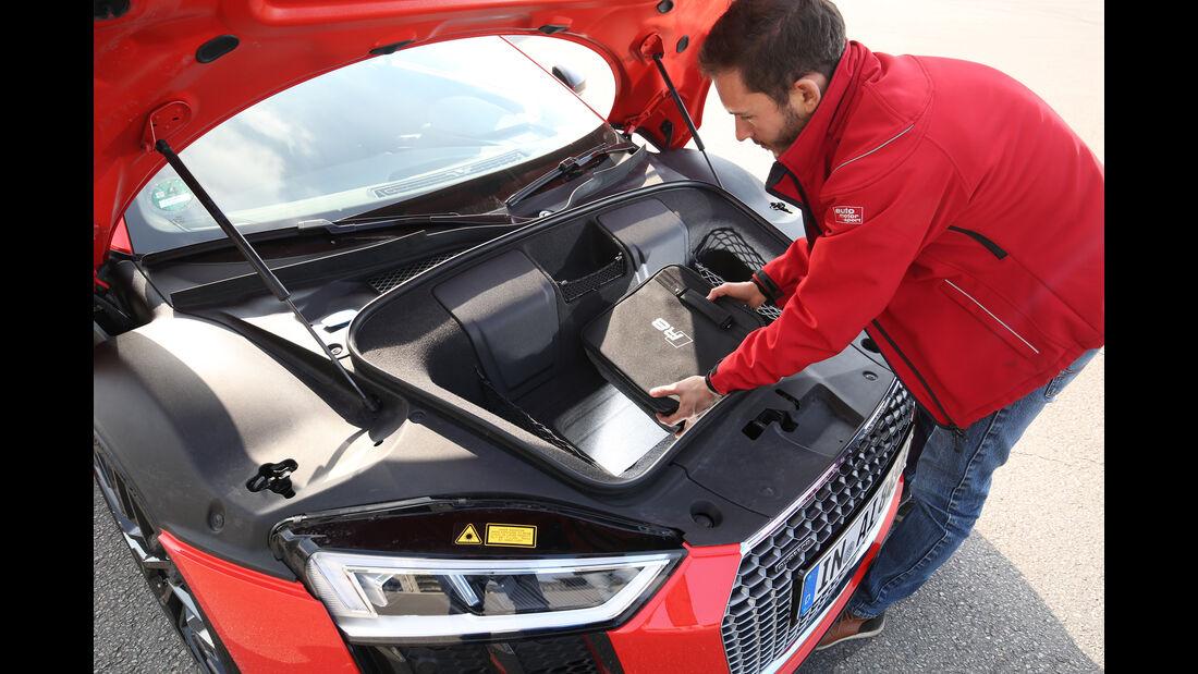 Audi R8 5.2 FSI Quattro Plus, Kofferraum