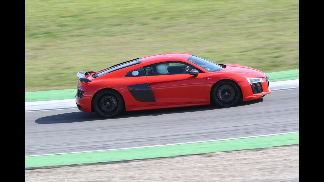 Audi R8 5.2 FSI Quattro Plus, Seitenansicht