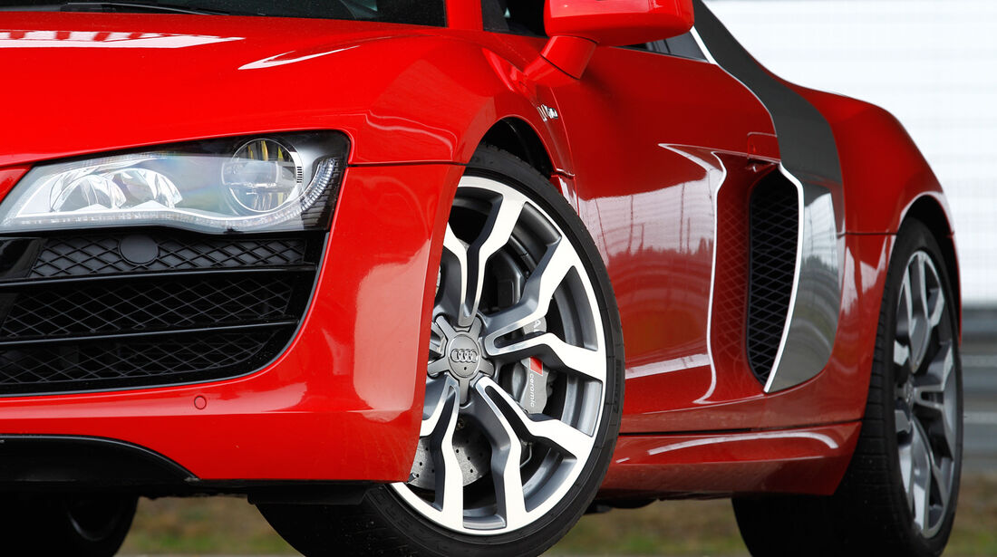 Audi R8 5.2 FSI, Rad, Felge