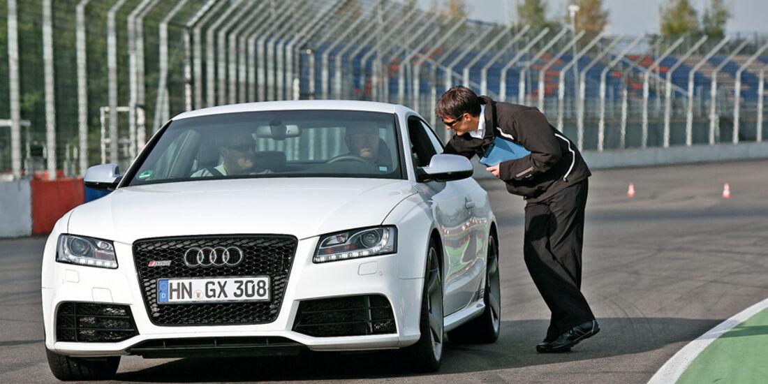 Audi R8, Aufgabenzuteilung