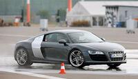 Audi R8, Bremstest