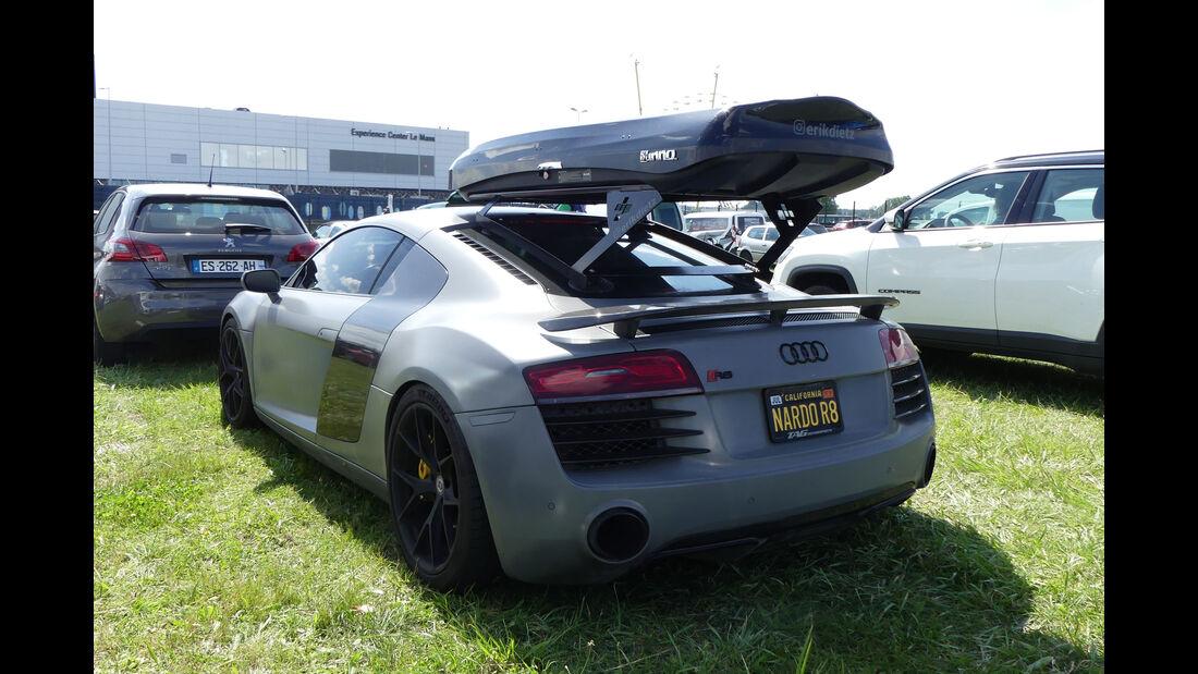 Audi R8 - Carspotting - 24h Le Mans 2018