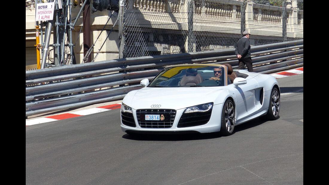 Audi R8 -  Carspotting - Formel 1 - GP Monaco 2015