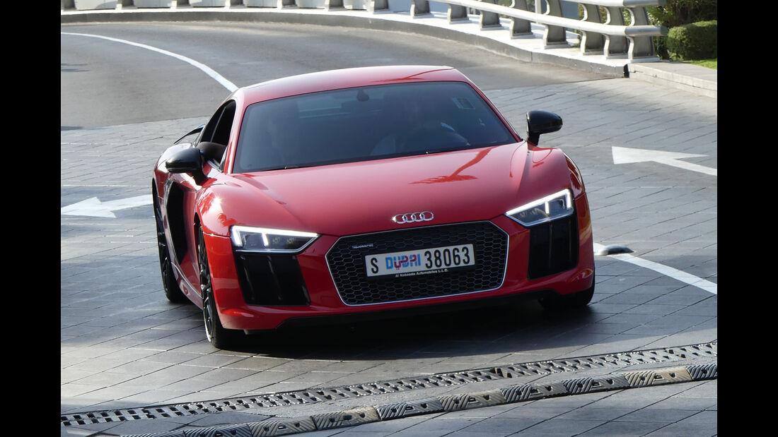 Audi R8 - Carspotting - GP Abu Dhabi 2016