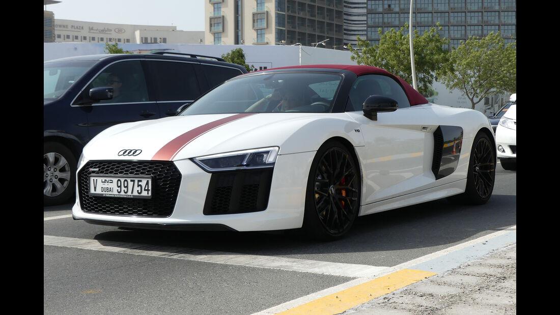 Audi R8 - Carspotting - GP Abu Dhabi 2018