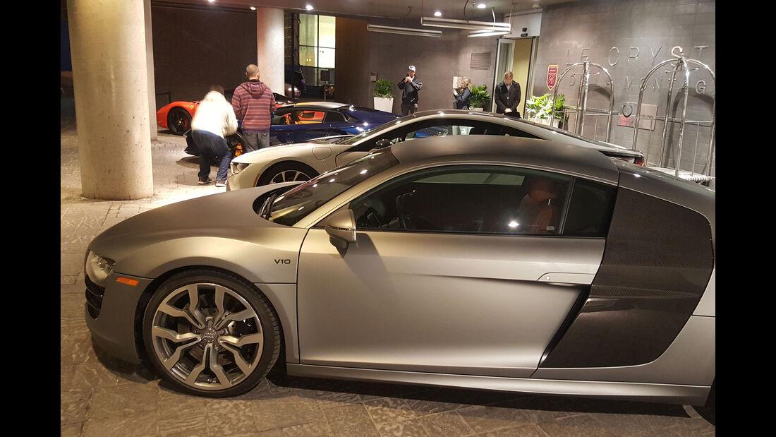 Audi R8 - Carspotting - GP Kanada 2016 - Montreal
