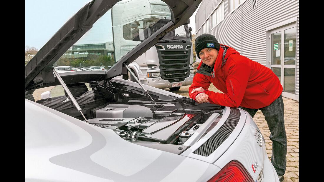 Audi R8 Coupé 4.2 FSI, Motor