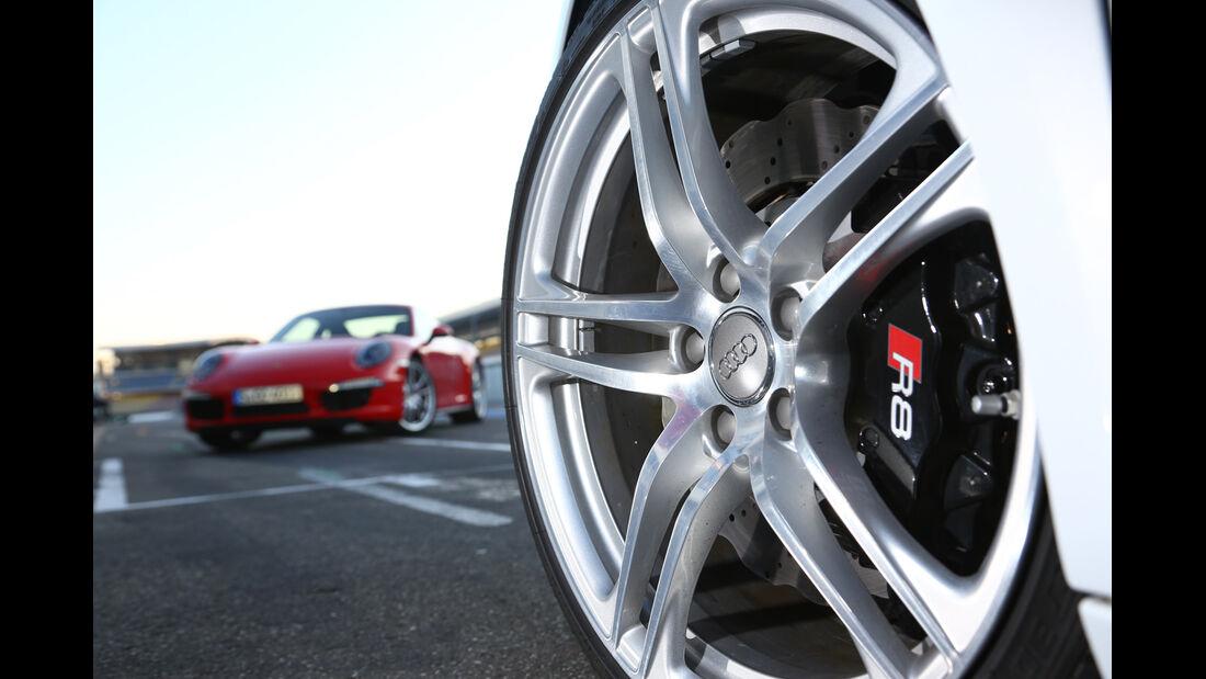 Audi R8 FSI Quattro, Felge, Rad