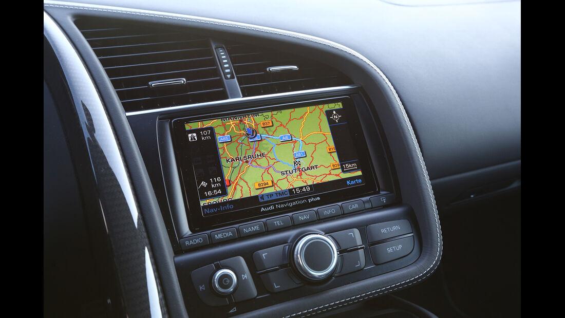 Audi R8 FSI Quattro, Navi, Display