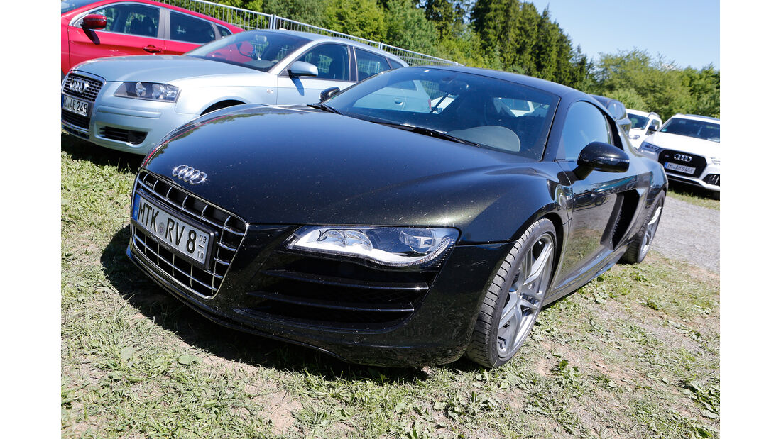 Audi R8 - Fan-Autos - 24h-Rennen Nürburgring 2017 - Nordschleife