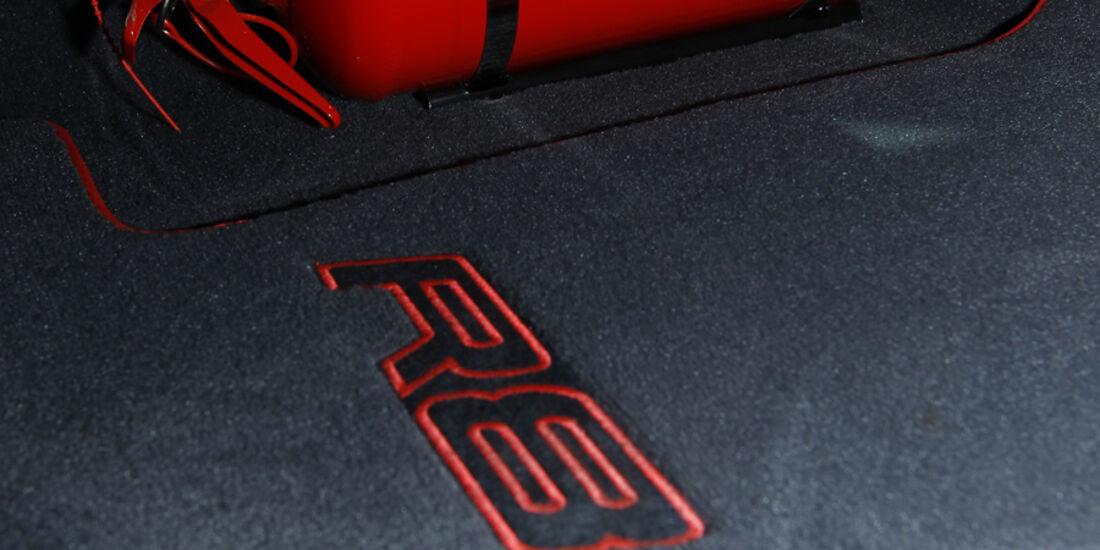 Audi R8 GT, Feuerlöscher