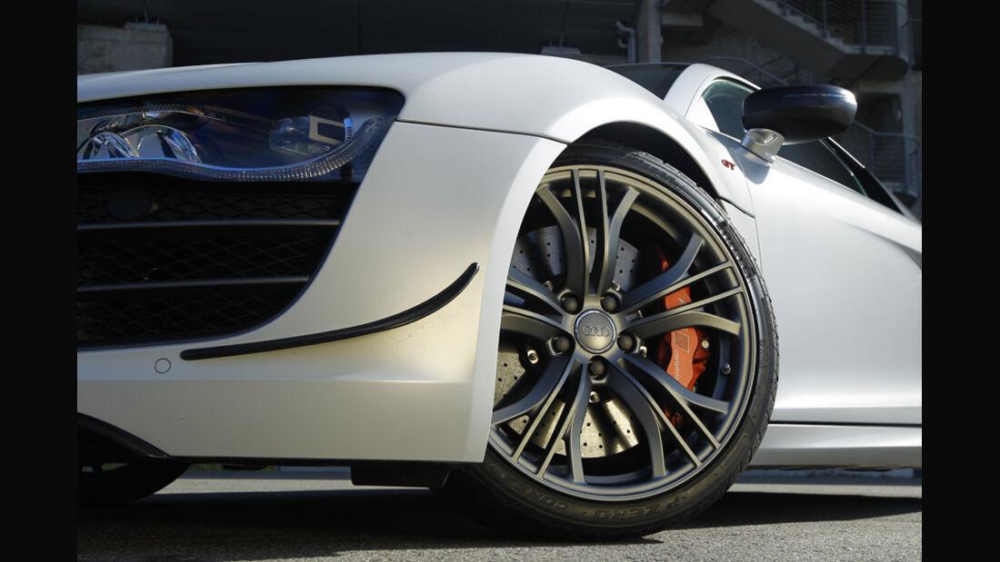 Audi R8 GT, Kotflügel