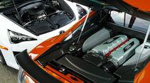 Audi R8 GT, Lexus LFA, Motor