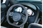 Audi R8 GT Spyder, Cockpit, Lenkrad