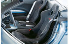 Audi R8 GT Spyder, Fahrersitz