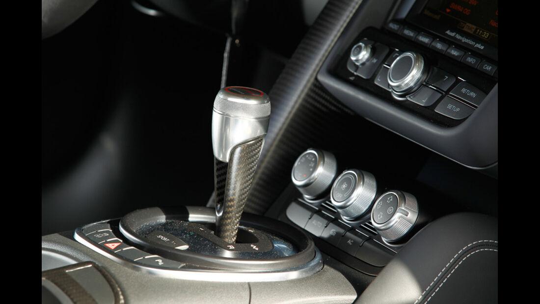 Audi R8 GT Spyder, Schaltknauf, Schalthebel