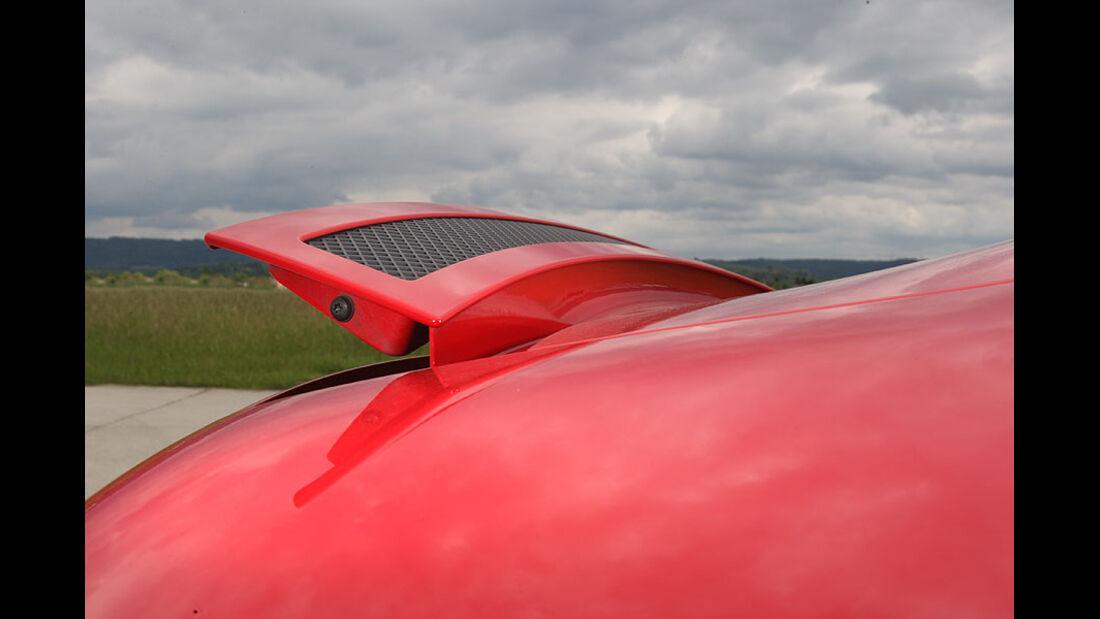 Audi R8, Heckspoiler