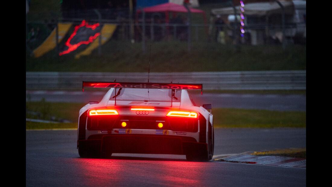 Audi R8 LMS - 24h Nürburgring  - Donnerstag - 1. Qualifying - 14.5.2015