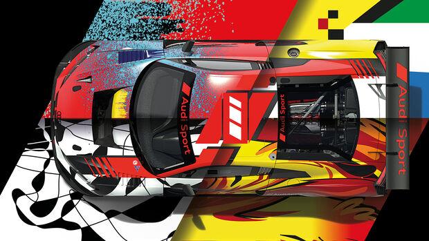 Audi R8 LMS - 24h Spa-Francorchamps 2021