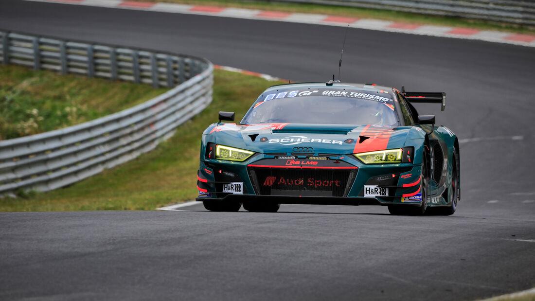 Audi R8 LMS - Audi Sport Team - Startnummer #1 - 24h-Rennen - Nürburgring - Nordschleife - Donnerstag - 24. September 2020