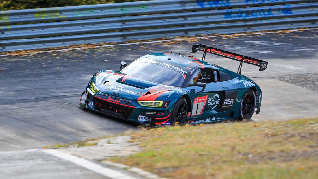 Audi R8 LMS - Audi Sport Team - Startnummer #1 - Klasse: SP9 - 24h-Rennen - Nürburgring - Nordschleife - 24. bis 27. September 2020