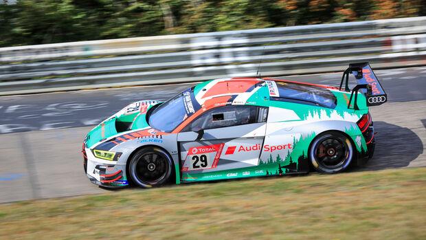 Audi R8 LMS - Audi Sport Team - Startnummer #29 - Klasse: SP9 - 24h-Rennen - Nürburgring - Nordschleife - 24. bis 27. September 2020