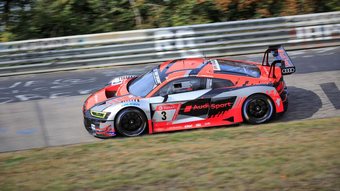 Audi R8 LMS - Audi Sport Team - Startnummer #3 - 24h-Rennen - Nürburgring - Nordschleife - Donnerstag - 24. September 2020