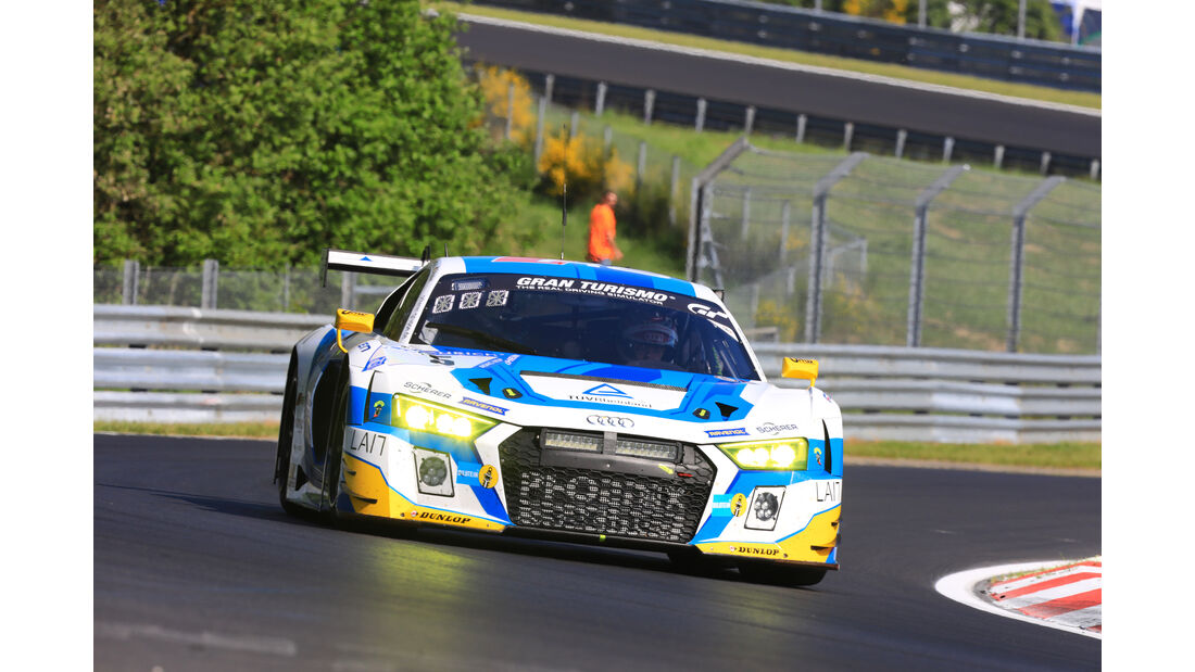 Audi R8 LMS - Freies Training - 24h-Rennen Nürburgring 2017 - Nordschleife