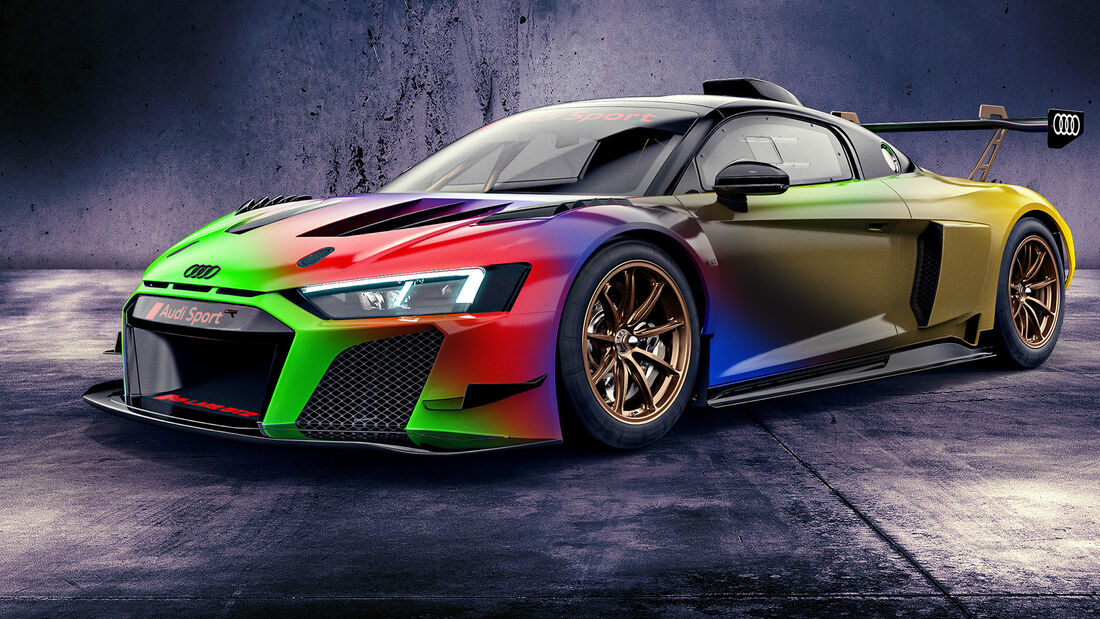 Audi R8 LMS GT2 Color Edition