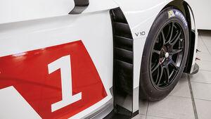 Audi R8 LMS GT3, Abluftschacht