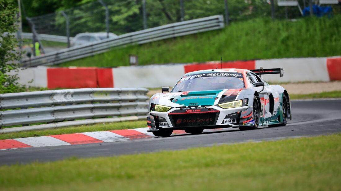 Audi R8 LMS GT3 - Audi Sport Team Land - Startnummer 29 - 24h Rennen Nürburgring - Nürburgring-Nordschleife - 4. Juni 2021