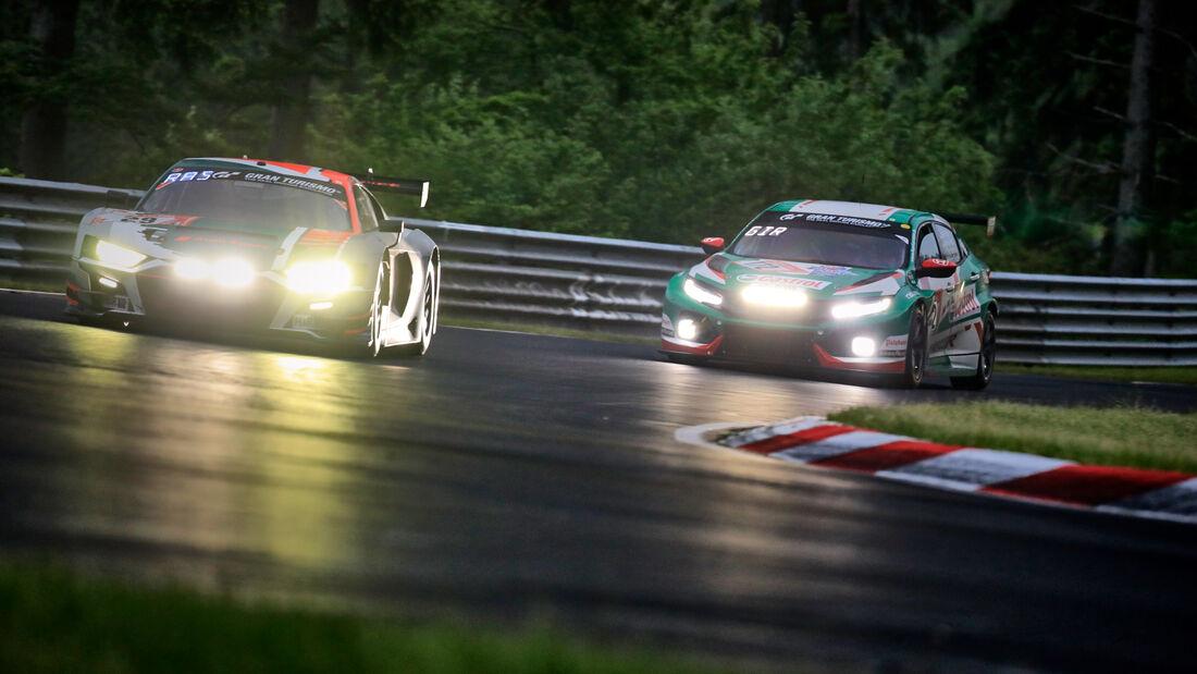 Audi R8 LMS GT3 - Audi Sport Team Land - Startnummer #29 - 24h-Rennen Nürburgring - Nürburgring-Nordschleife - 5. Juni 2021