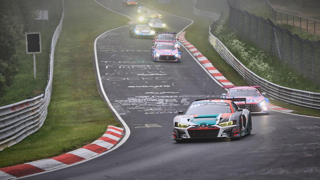 Audi R8 LMS GT3 - Audi Sport Team Land - Startnummer #29 - 24h-Rennen Nürburgring - Nürburgring-Nordschleife - 6. Juni 2021