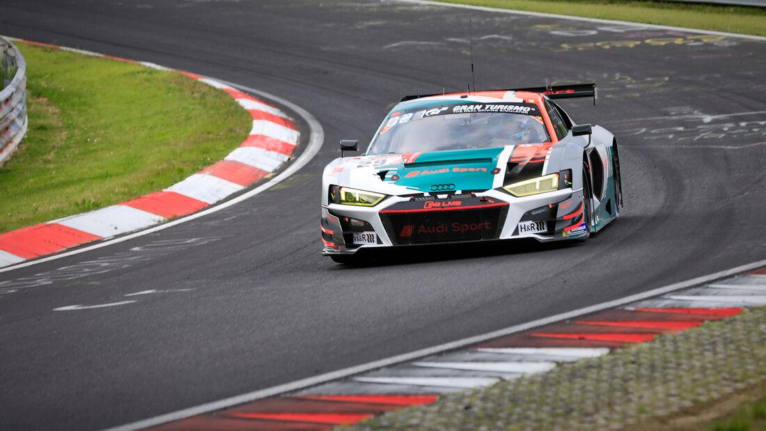Audi R8 LMS GT3 - Audi Sport Team Land - Startnummer #29 - Klasse: SP 9 (FIA-GT3) - 24h-Rennen - Nürburgring - Nordschleife - 03. - 06. Juni 2021